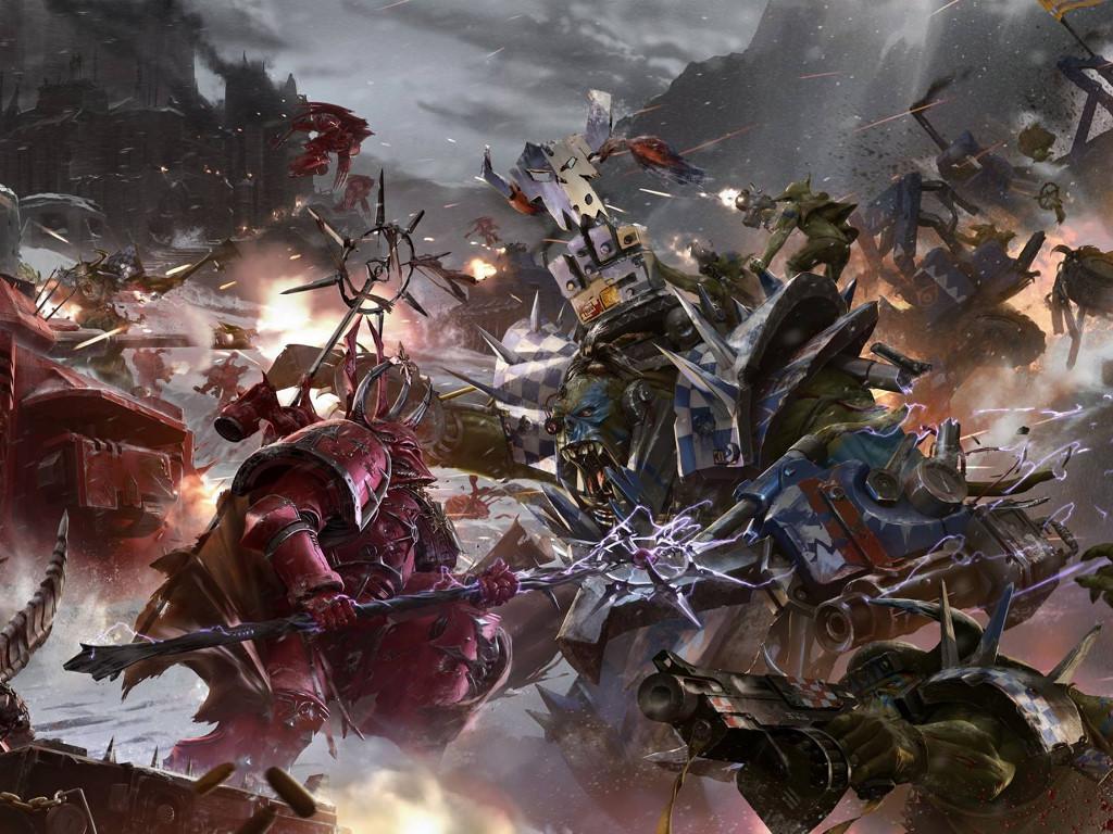 Fantasy Wallpaper: Ork Assault