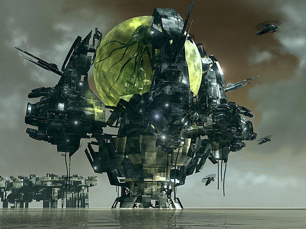 Fantasy Wallpaper: Pandora Sphere