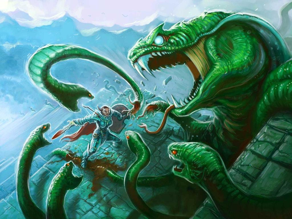 Fantasy Wallpaper: Pathfinder - Hydra