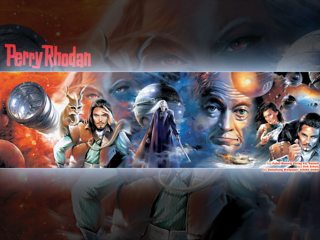 Fantasy Wallpaper: Perry Rhodan