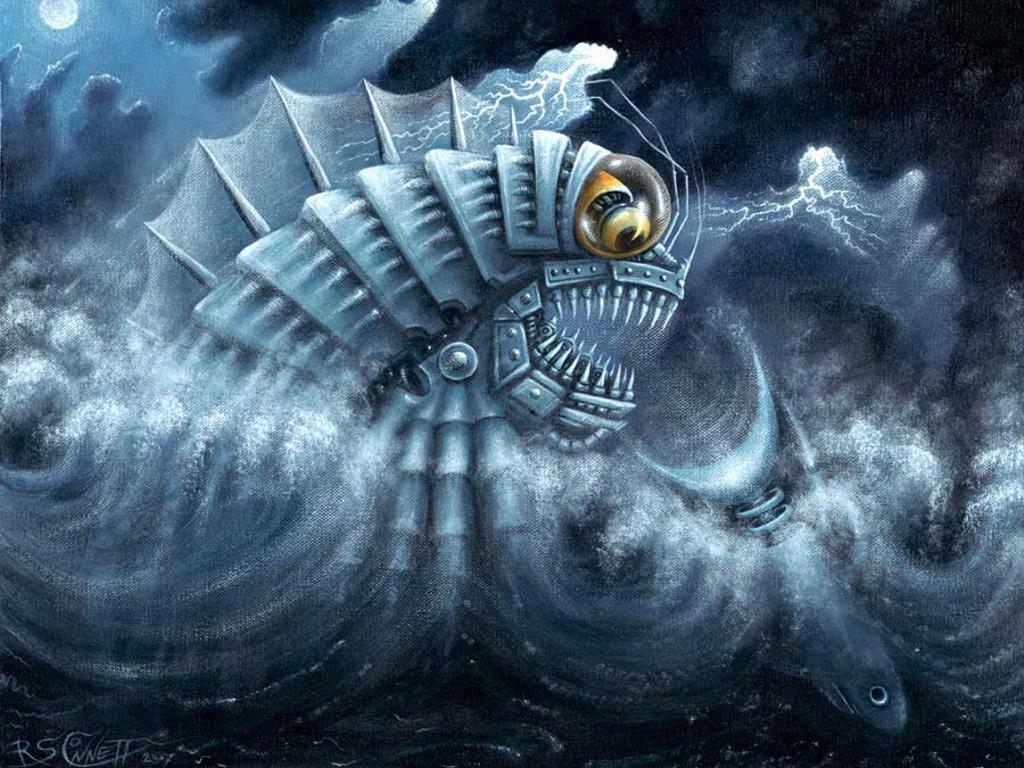 Fantasy Wallpaper: Pisces Mechanica