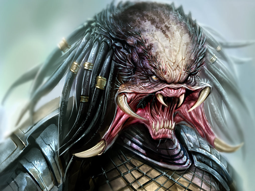Fantasy Wallpaper: Predator (by Nebezial)