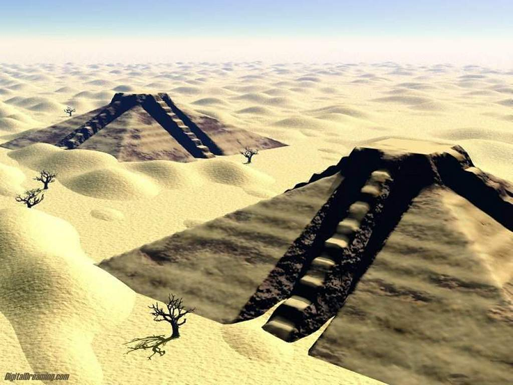 Fantasy Wallpaper: Pyramids