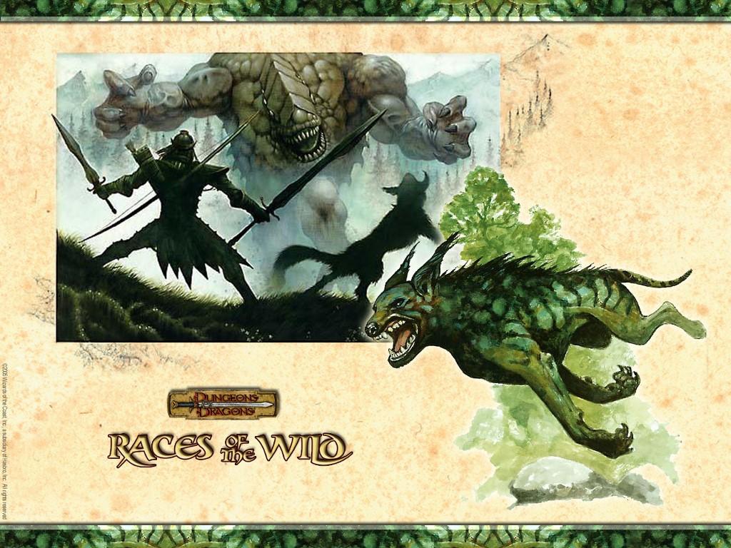 Fantasy Wallpaper: Races of the Wild
