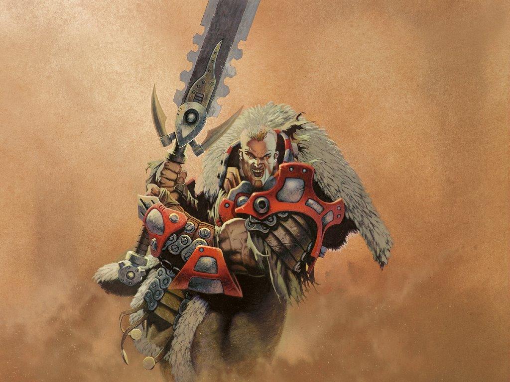 Fantasy Wallpaper: Rage Warrior