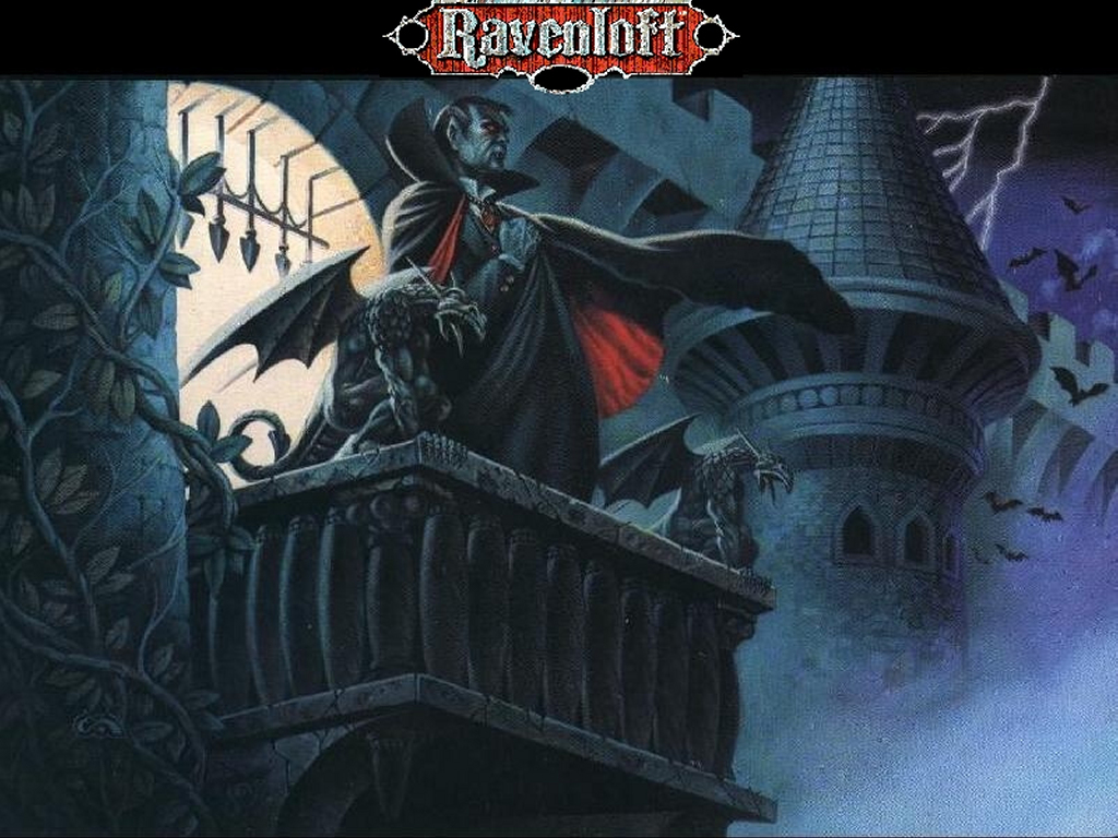 Fantasy Wallpaper: Ravenloft - Strahd
