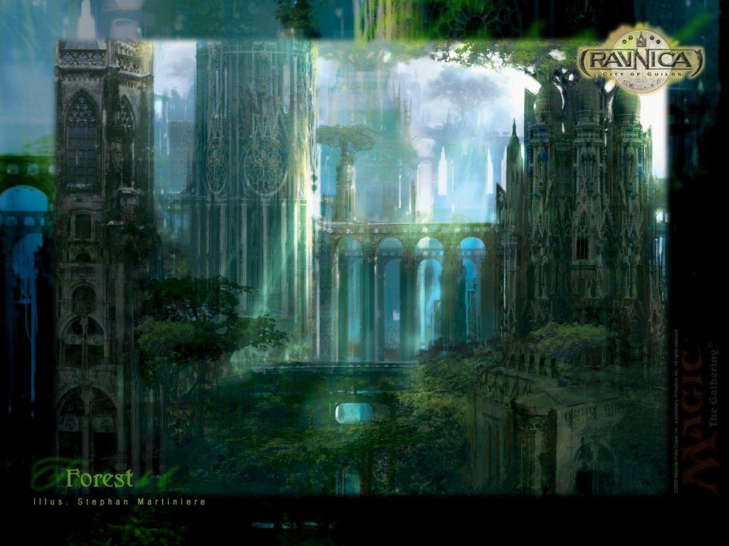 Fantasy Wallpaper: Ravnica - Forest