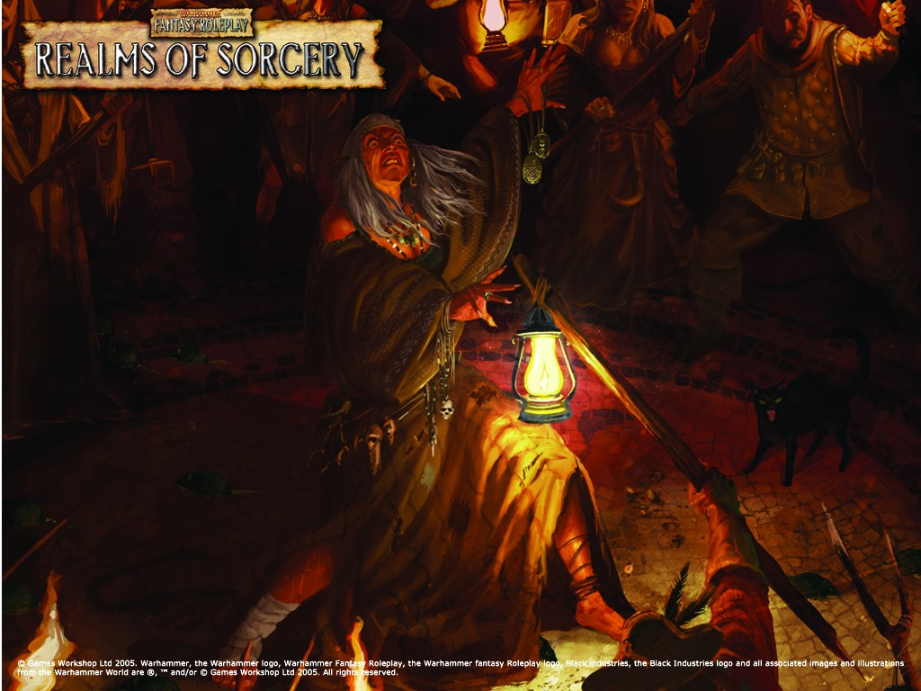 Fantasy Wallpaper: Realms of Sorcery