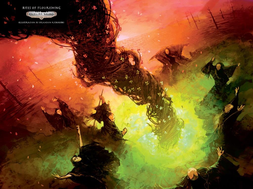 Fantasy Wallpaper: Rites of Flourishing
