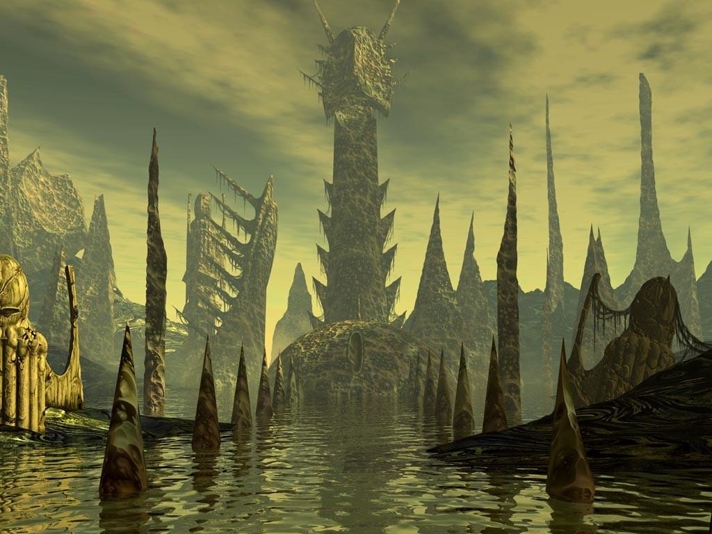 Fantasy Wallpaper: Rlyeh