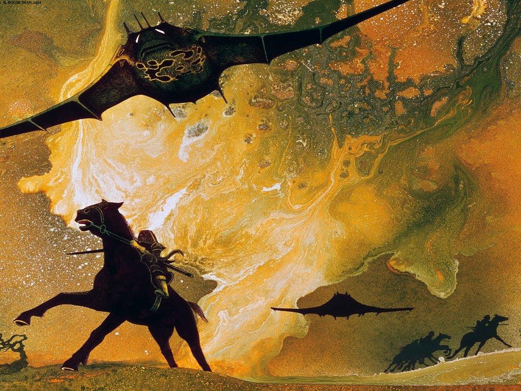 Fantasy Wallpaper: Roger Dean - Art