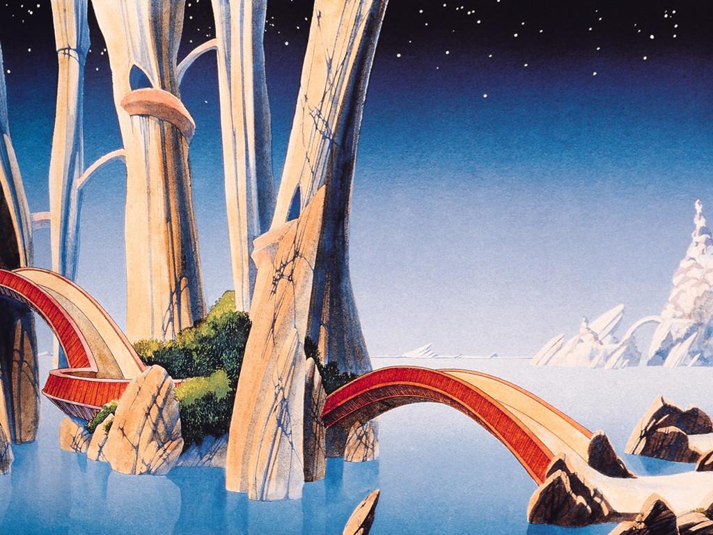 Fantasy Wallpaper: Roger Dean