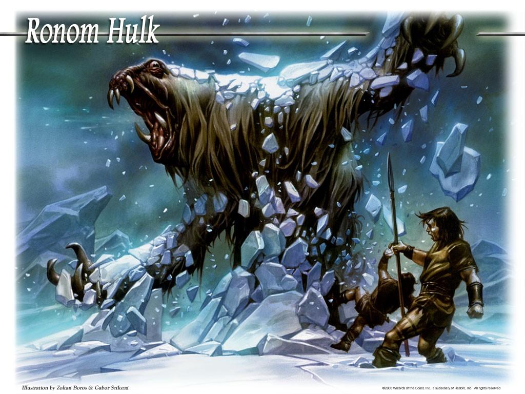 Fantasy Wallpaper: Ronom Hulk