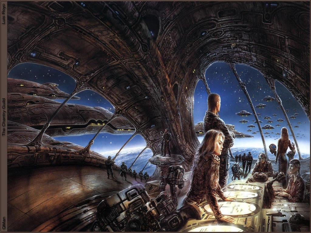 Fantasy Wallpaper: Royo - Starfleet