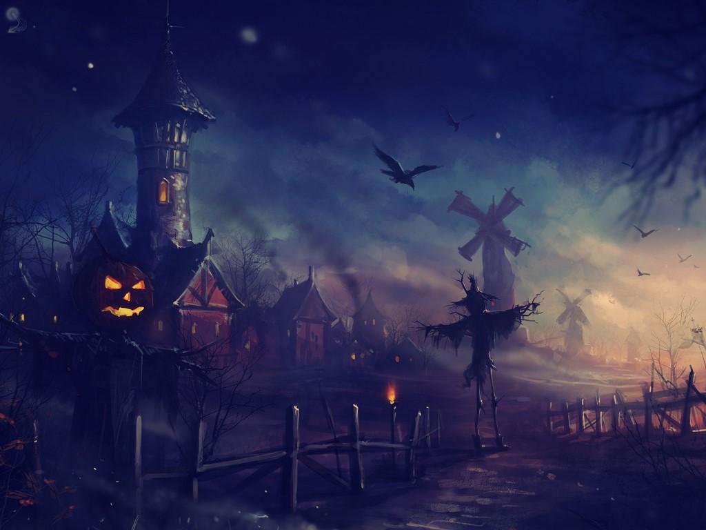 Fantasy Wallpaper: Scarecrow World