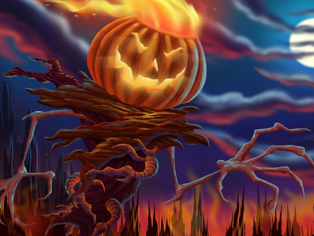 Fantasy Wallpaper: Pumpkinhead