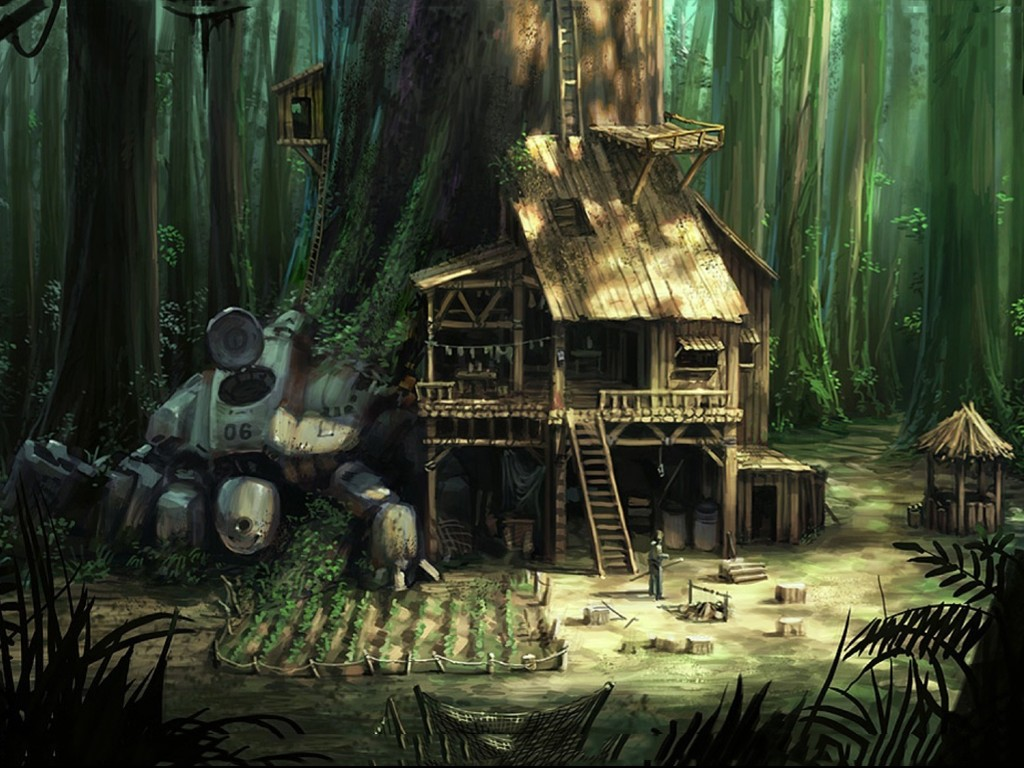 Fantasy Wallpaper: Settling