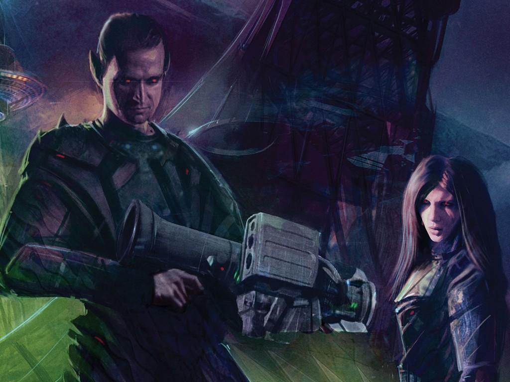 Fantasy Wallpaper: Shadowrun - Corporate Intrigue