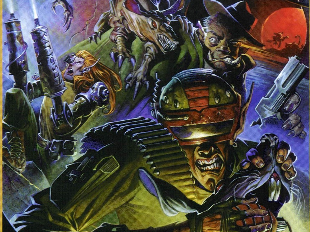 Fantasy Wallpaper: Shadowrun - Predator and Prey