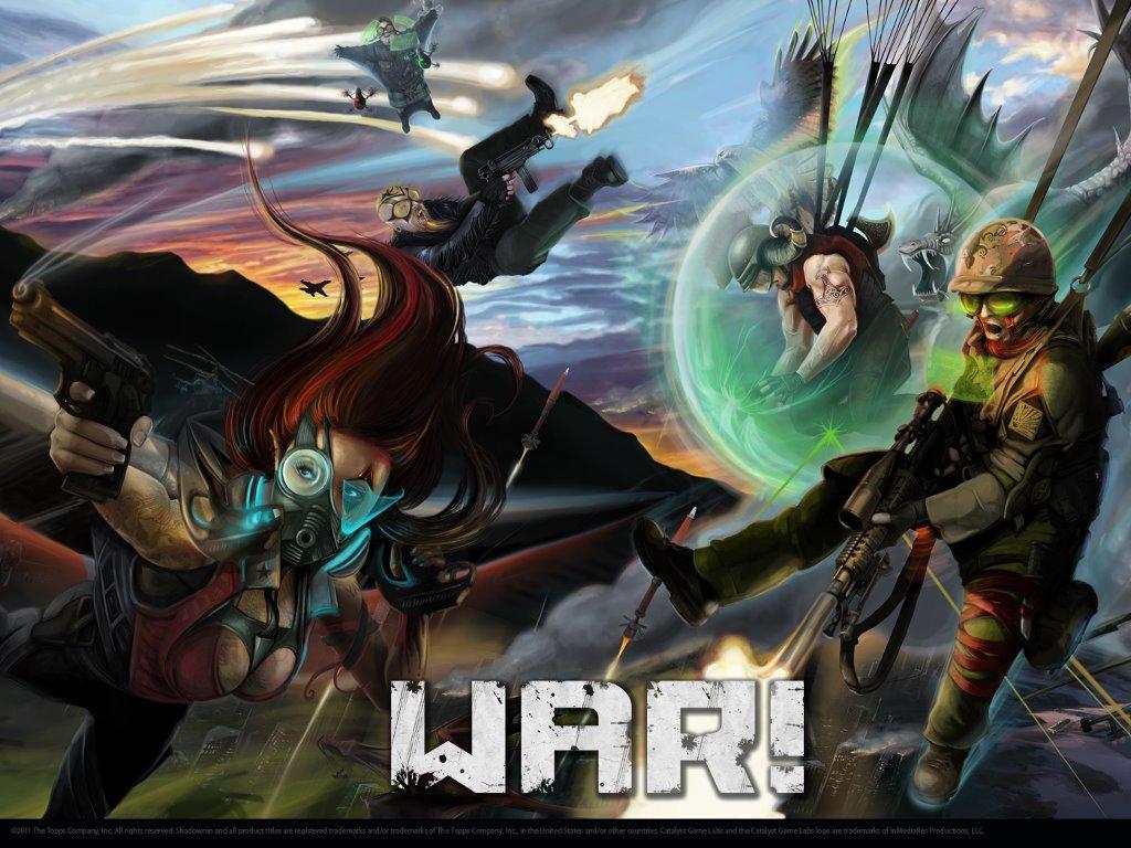Fantasy Wallpaper: Shadowrun - War