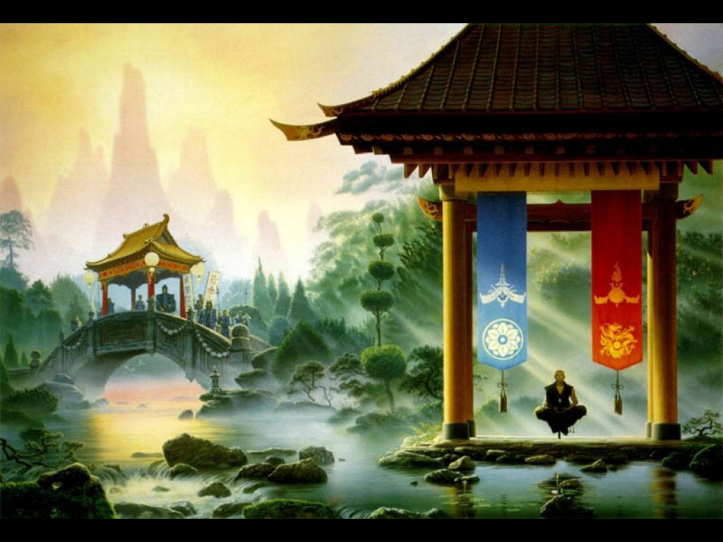 Fantasy Wallpaper: Shogun