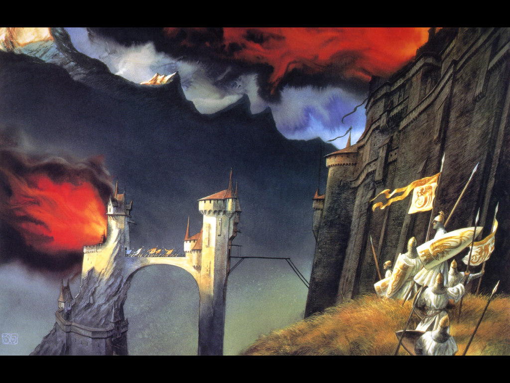 Fantasy Wallpaper: Siege of Angband