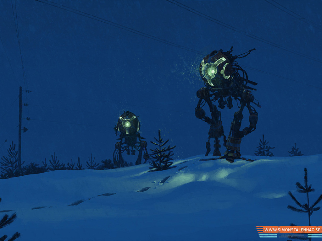 Fantasy Wallpaper: Simon Stlenhag