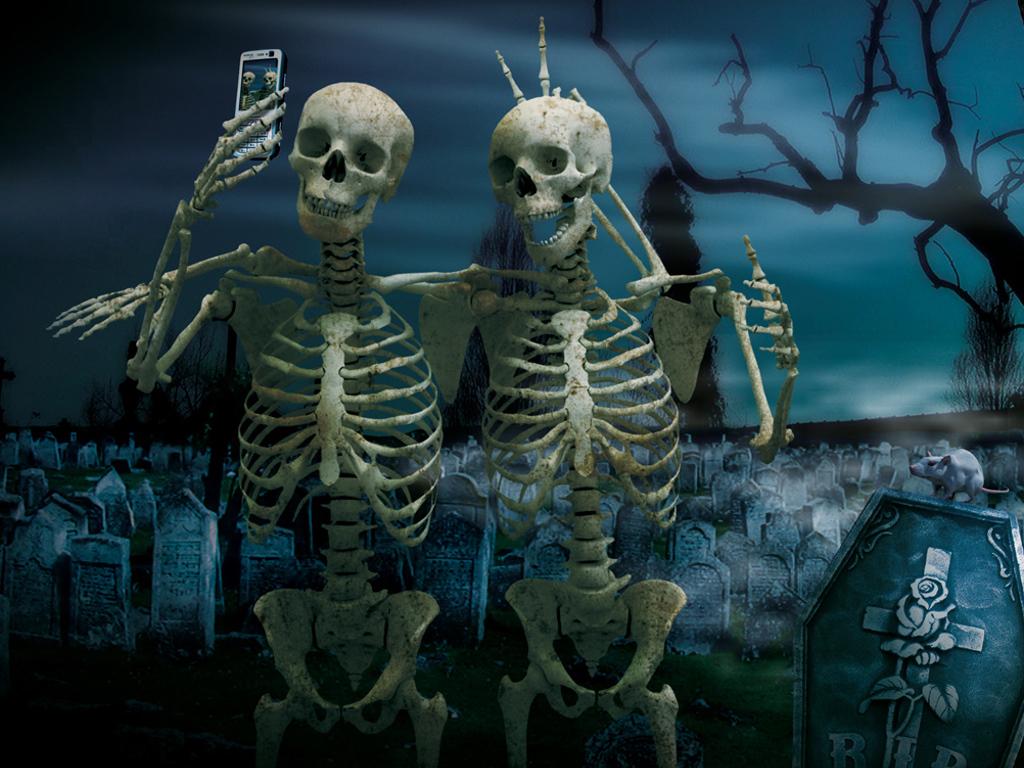 Fantasy Wallpaper: Skeletons