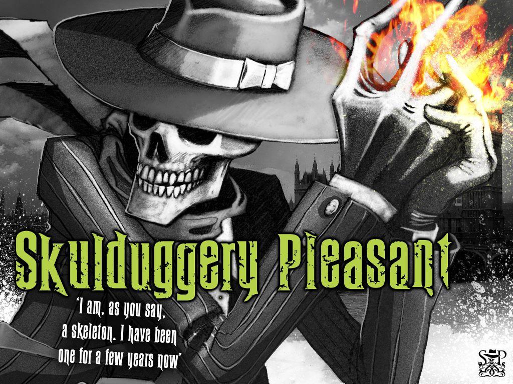 Fantasy Wallpaper: Skullduggery Pleasant