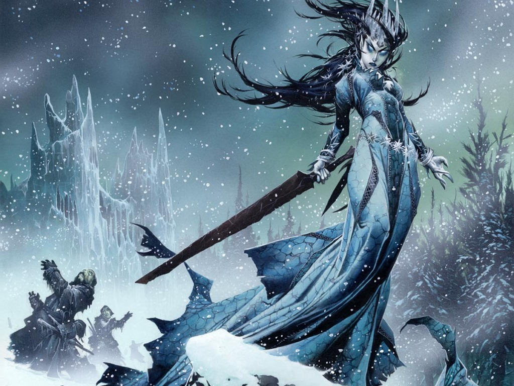 Fantasy Wallpaper: Snow Witch