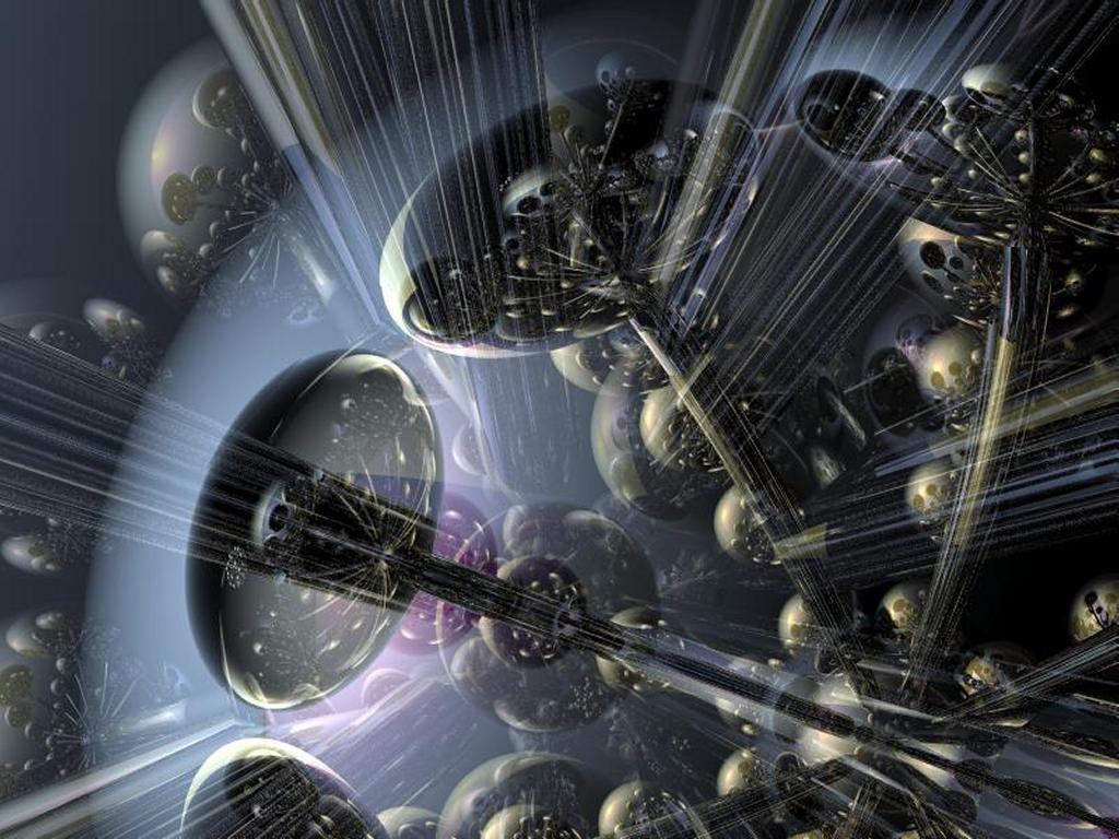 Fantasy Wallpaper: Space Colonies