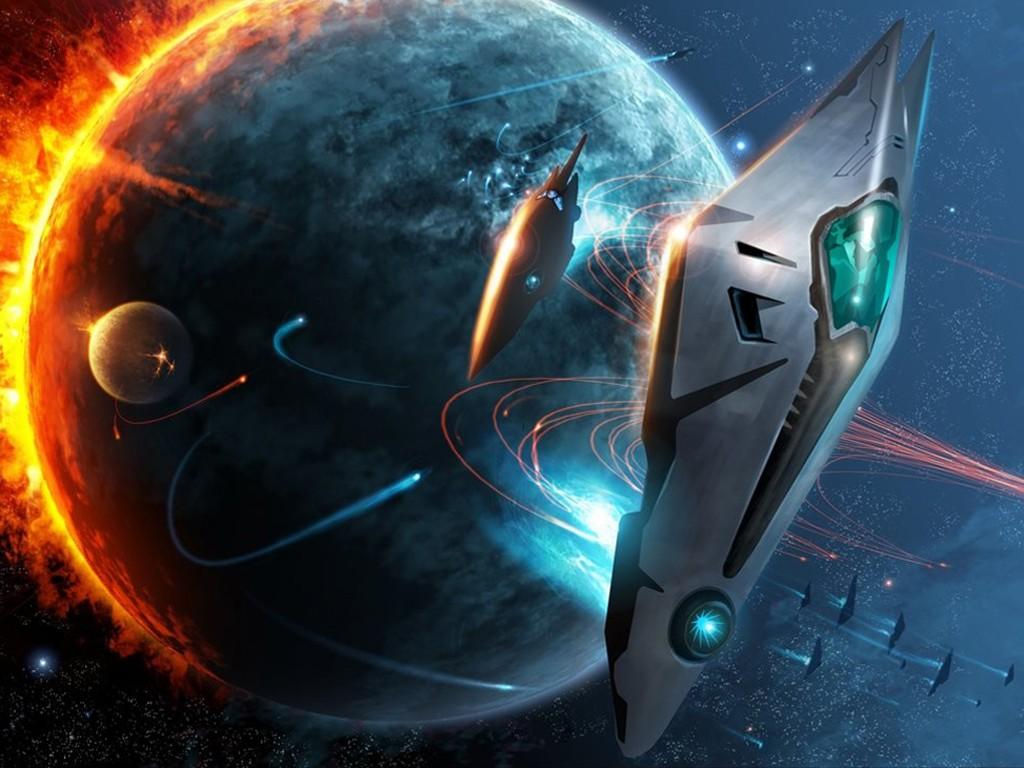 Fantasy Wallpaper: Space Fleet