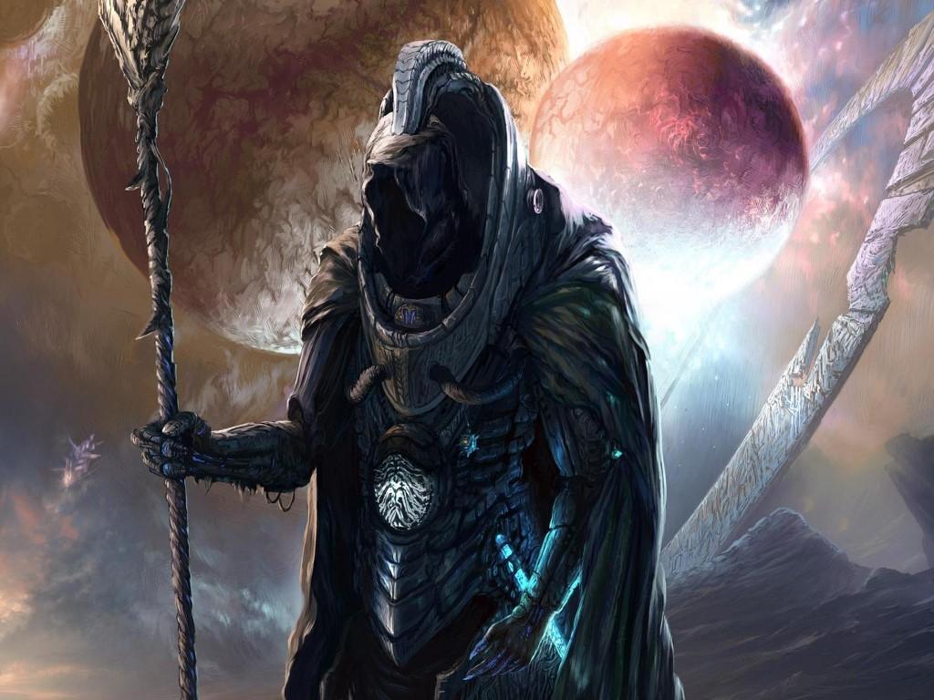 Fantasy Wallpaper: Space Guardian