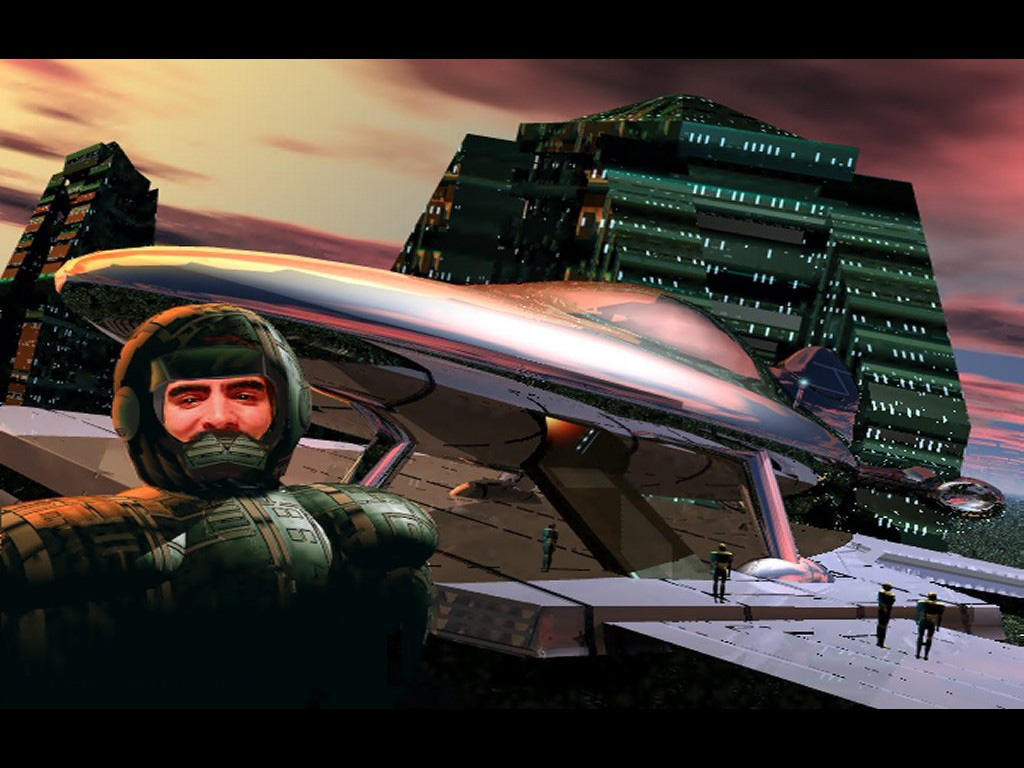 Fantasy Wallpaper: Space Marine