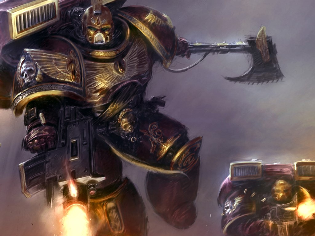 Fantasy Wallpaper: Space Marines