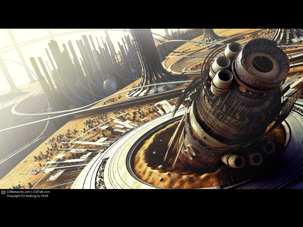 Fantasy Wallpaper: Space Opera