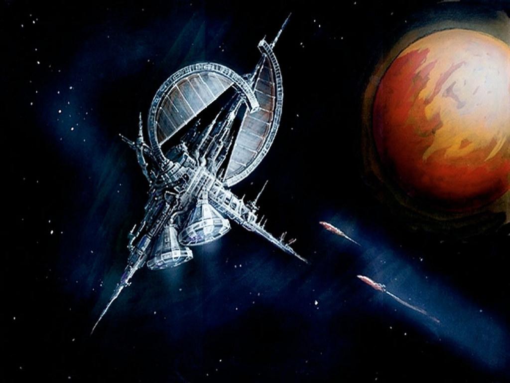Fantasy Wallpaper: Space Station