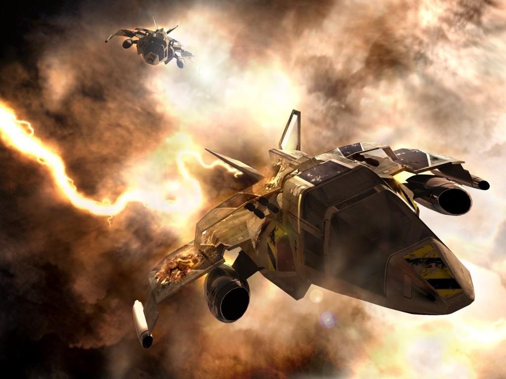Fantasy Wallpaper: Space Storm