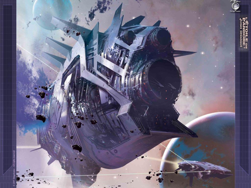Fantasy Wallpaper: Space Transgression