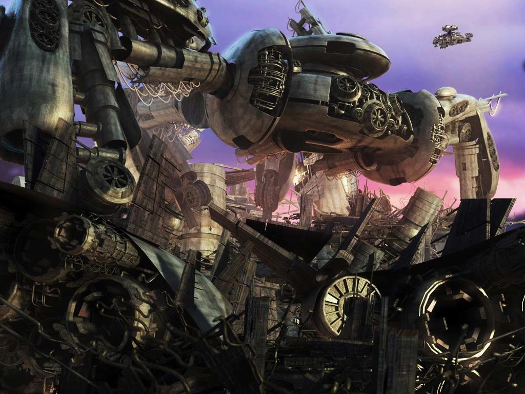 Fantasy Wallpaper: Spacemen