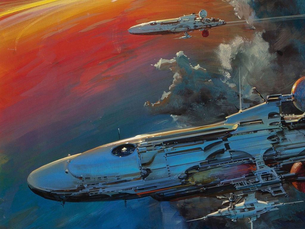 Fantasy Wallpaper: Spaceships