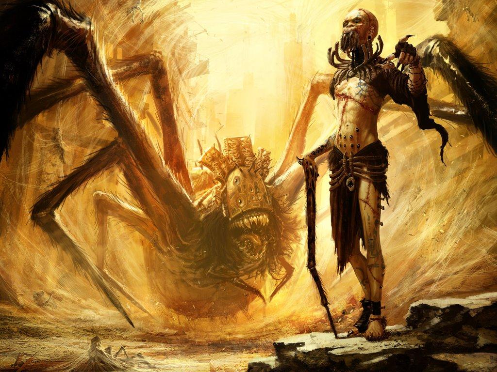 Fantasy Wallpaper: Spider World