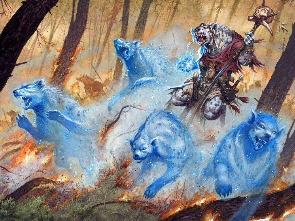 Fantasy Wallpaper: Spirit Summoner