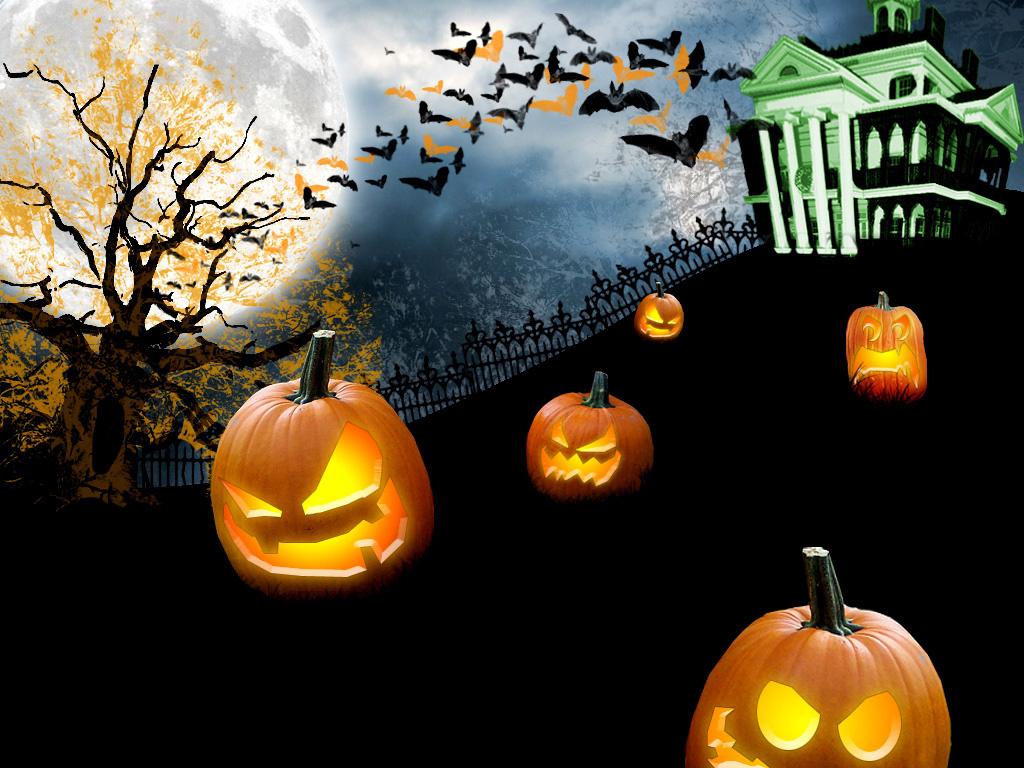 Fantasy Wallpaper: Spooky Halloween