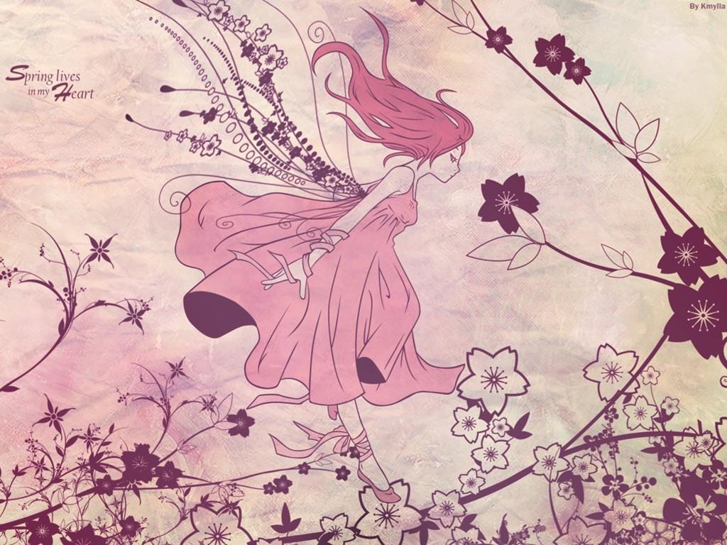 Fantasy Wallpaper: Spring Ballet