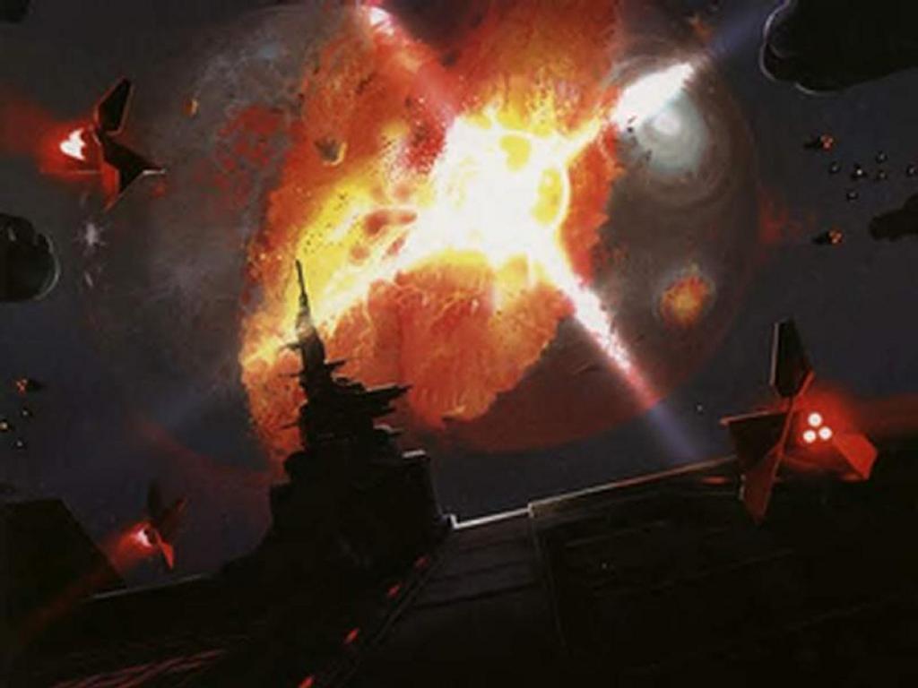 Fantasy Wallpaper: Star Battle