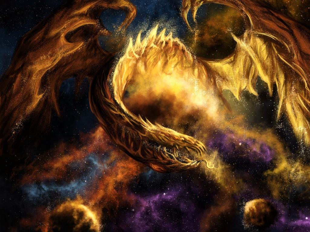 Fantasy Wallpaper: Stars Devourer