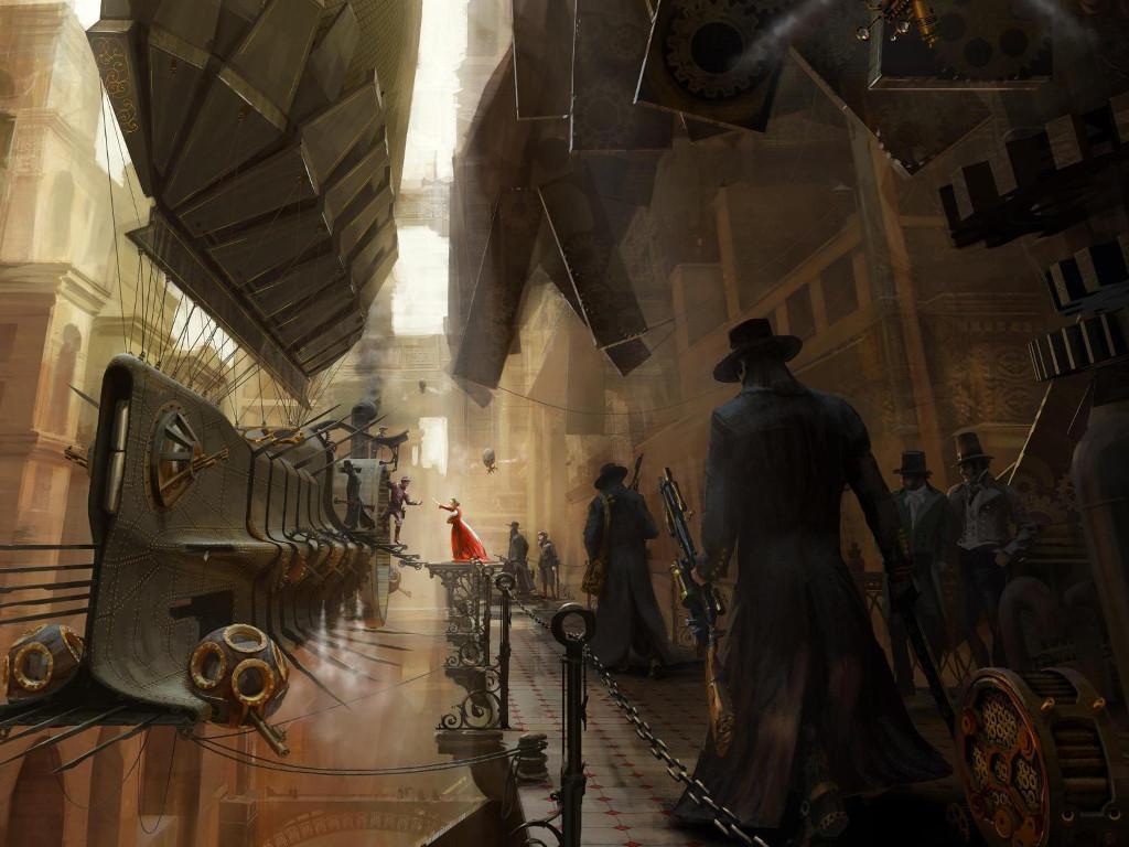 Fantasy Wallpaper: Steampunk - Bounty Hunter