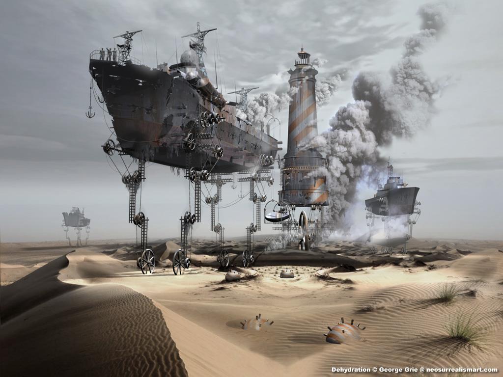 Fantasy Wallpaper: Steampunk