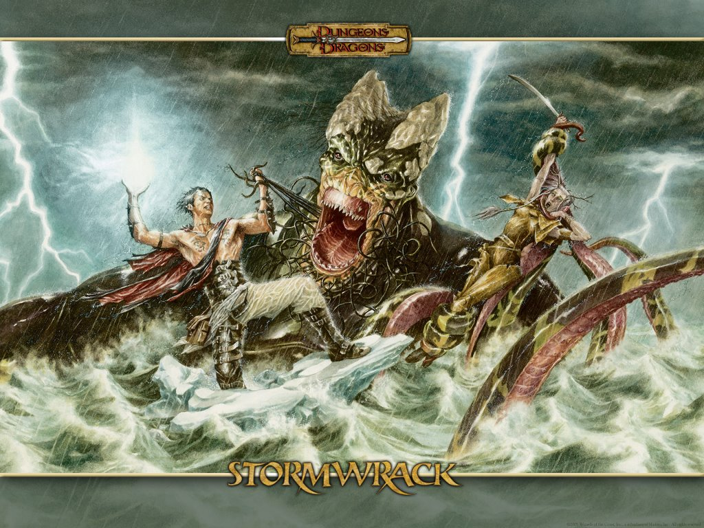 Fantasy Wallpaper: Stormwrack